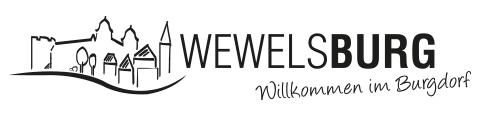 Logo Burgdorf Wewelsburg schwarz-weiss