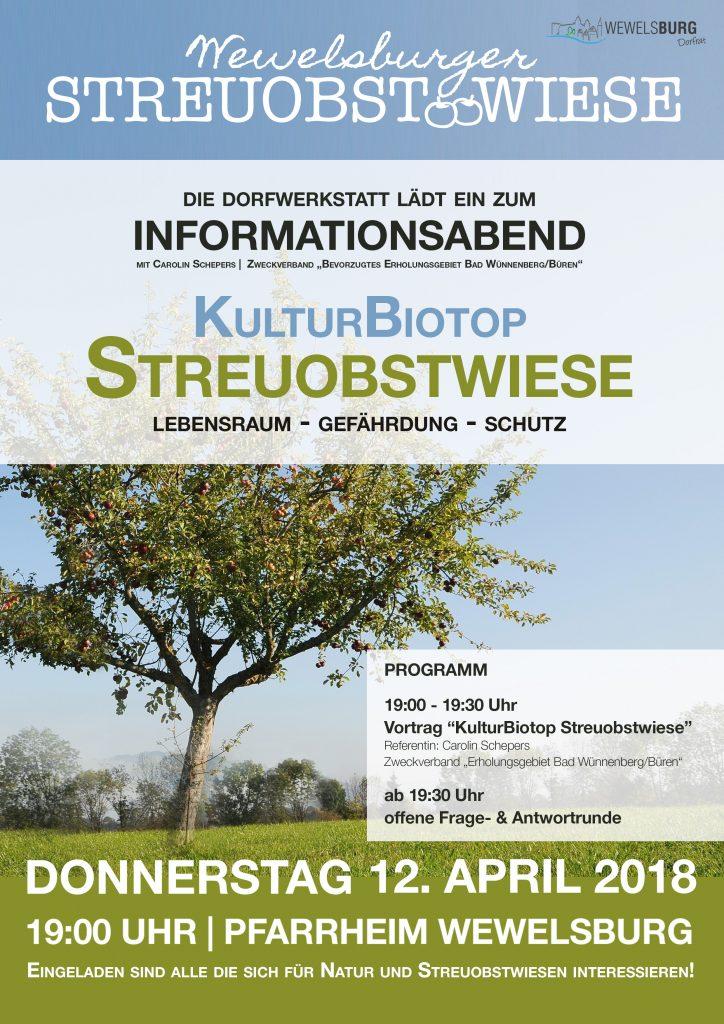 Informationsabend zur Streuobstwiese Wewelsburg